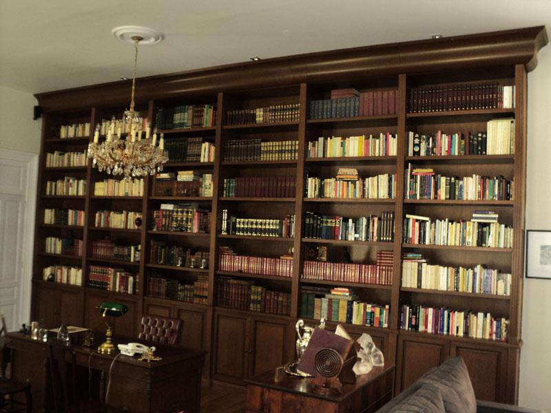 Libreros for Closets finos madera